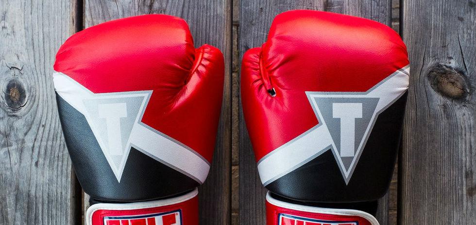 Guantes boxeo entrevista por competencias