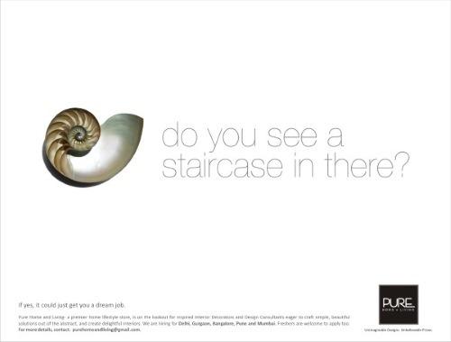 pure-home-and-living-recruitment-ad atraer talento