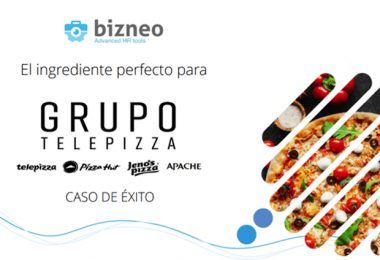Grupo Telepizza y Bizneo HR