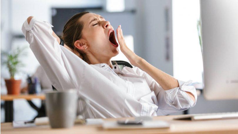 Aburrimiento en el trabajo