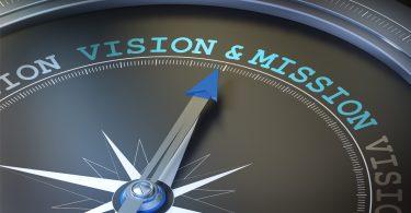 La visión y la misión de una empresa deben quedar claras en una declaración oficial de la compañía