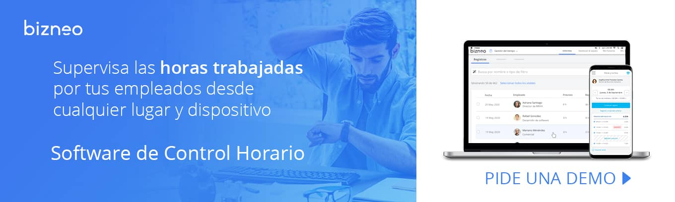 Software Control Horario